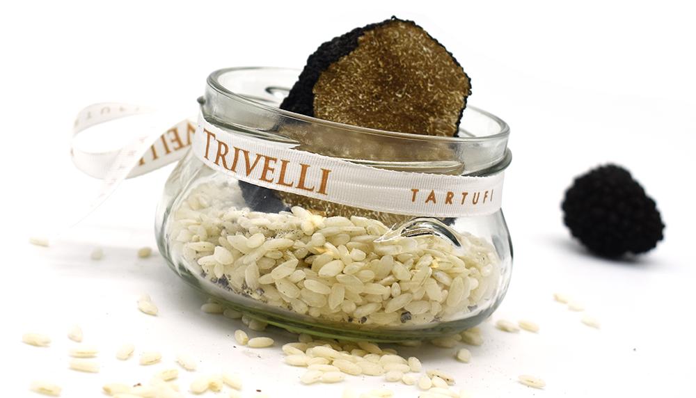 Conservare il tartufo nel riso