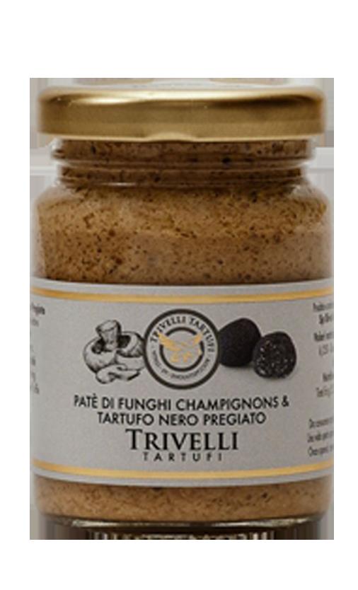 pPatè di funghi champignons e tartufo nero pregiato